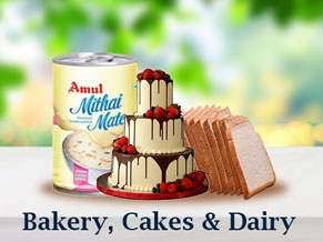 Bakery, Cakes & Dairy