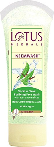 Lotus Herbals Neem and Clove Purifying Face Wash