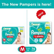 Pampers New Medium diapers (7-12 kg)