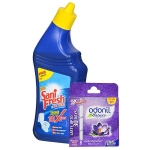 Sanifresh Toilet Cleaner - 200ml with Free Odonil