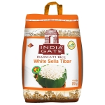 India gate white sella  tibar basmati rice