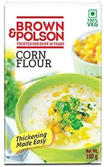 Brown n Polson corn flour