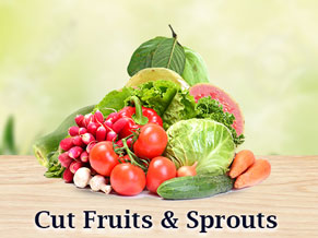 Cut fruits & Sprouts